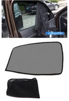 65 سنتيمتر نافذة السيارة الشمس الظل شبكة النسيج الشمس قناع الظل غطاء الدرع الأسود السيارات ظلة الستار
