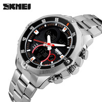 SKMEI Luxury Brand Men Digital Quartz Stainless Watch Milita...