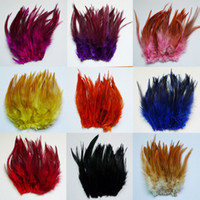 rooster neck feather DIY Christmas day decorate feather Part...