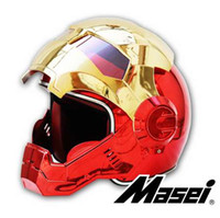 MASEI 610 plating Chrome electroplate Gold Red IRONMAN Iron ...