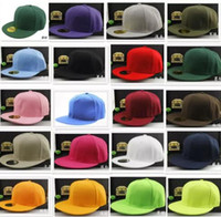 27 colori di buona qualità Solid Plain Plain Blank Snapback Solid Cappelli da baseball Cappelli da baseball Cappelli da calcio Regolabile Berretto da basket