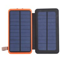 Solar Power Bank 30000mAh Waterproof Powerbank Charger Doubl...