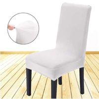 Verwijderbare spandex stretch elastische stoel kap stoelhoezen eetkamer kamer bruiloft banket stoel covers decor wasbare slipcover