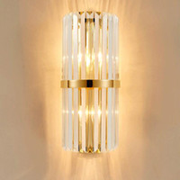 Modern Crystal Wall Lamp Luxury Wall Light Wall Lighting Crystall Sconce for Bedside Porch Hallway with E14 Socket