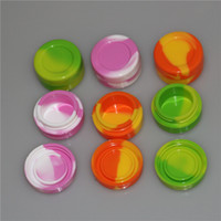 Nonstick food grade silicone jars dab wax vaporizer oil cont...