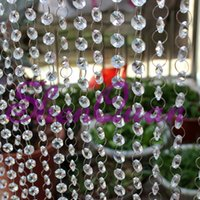 Foshan crystal bead curtain Indoor home decoration partition...