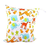 Waterproof Wet and Dry Diaper Bag for Baby Carrier (Giraffe)