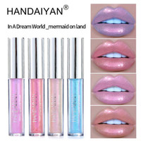 HANDAIYAN 6 Colors glow glitter shimmer Mermaid Lipgloss Lip...