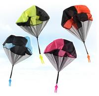 Giocattoli da lancio per bambini in PVC a colori casuali in PVC a colori casuali per bambini