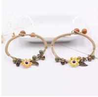 Bracciale realizzato a mano in ceramica con braccialetti fai da te Artware Bracciale retrò per donna, regalo di gioielleria, ingrosso # 1241