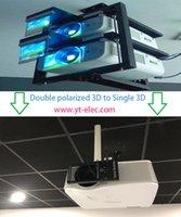 영화가있는 홈 시어터 용 3D 편광 변조기 RealD 수동형 원형 편광판 3D 안경, 모든 DLP 3D 프로젝터