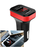 2018 New Update! LCD Screen Dual Port USB Car Charger with C...