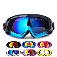 Haute qualité 12 couleur Ski Luge lunettes de sécurité lunettes ski lunettes de snowboard Protection des yeux Coupe-Vent Bicyclette Lunettes De Protection out332