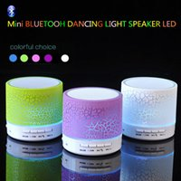 Mini Bluetooth Speakers Wireless LED Hands Free Portable Spe...