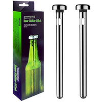 New 2pcs set Beer Chiller Stick Stainless Steel Wine Cooling...