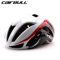 Casco da bicicletta CAIRBULL Ciclismo in modo sicuro Cap For Men Ultralight EPS + Cover PC Casco da bici MTB Road Integrally-Mold Ciclismo