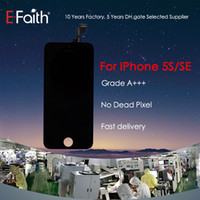 For iPhone 5S Black LCD Display Touch Screen Digitizer Full ...