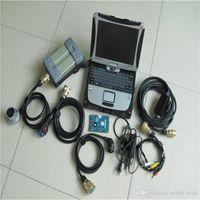 MB Star C3 Мультиплексор PRO Диагностический инструмент Автомобили Диагностика сканера + CF19 Сенсорный HDD Xentry DAS EPC Программное обеспечение Комплектация