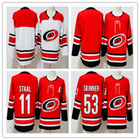 2018 men' s High quality Carolina Hurricanes Jersey 11 E...