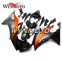 Kit carenature in alluminio per motocicli ad iniezione Black Cowlings per Yamaha YZF600 R6 2008 - 2016 2010 2011 2012 2013 2014 2015 Body Kits Carene