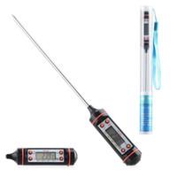 Fleisch-Thermometer-Küche Digital-Kochen Nahrungsmittelfühler-elektronischer BBQ-Haushalts-Temperatur-Detektor-Werkzeug mit Kleinverpackung 10peices