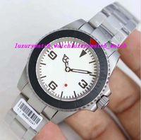 Luxusuhren Top Qualität neu angekommenen Edelstahl Armband Eta 2836 Brust 40mm Automatik Mode Herrenuhr Armbanduhr