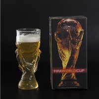 350ML FIFA World Trophy Soccer Football Cup Beer Drinking Gl...