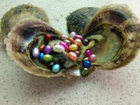 AAA 25dyed colours vacuum packed 6- 8mm oval freshwater loose...