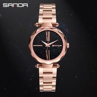 Sanda Women' s Quartz Watch Star Surface Steel Fashion T...