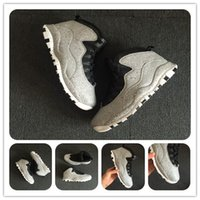 With Box 10 Cement Im back Cool Grey Basketball Shoes X 10s ...