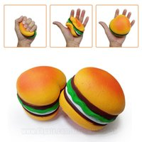 Jumbo Squishies Hamburger Slow Rising Squishy Scented Heart ...