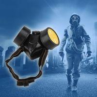Supervivencia de emergencia Máscara de gas Seguridad Máscara de gas respiratoria Pintura antipolvo Filtro de protección del respirador Envío de la gota