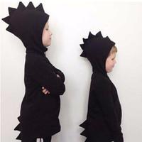 Nouveau Manteau De Dinosaure 2017 Enfants Sweats À Capuche Filles Sweats Enfants Capuche Vestes Dino Filles Vêtements Tenues Manteaux Costumes Tops