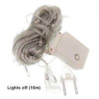 10M Waterproof String 100LED RGB twinkle Lights Christmas Tr...