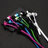 100 % 고품질 스테레오베이스 헤드셋 귀 금속 지퍼 이어폰 헤드폰 3.5 미리 메터 잭 이어폰 아이폰 X 8 7 6 초 6 5 MP3