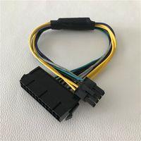 ATX 24Pin femmina a scheda madre 8 pin maschio per DELL Optiplex 3020 7020 9020 T1700 adattatore per server cavo di alimentazione cavo 30 cm 18AWG