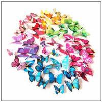 8 Photos Wholesale Butterfly Bathroom Sets   12pcs Set D Butterfly  Decoration Wall Stickers Butterflies D Butterfly PVC