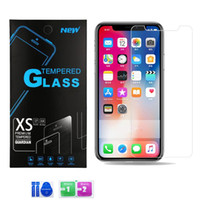 Samsung A01 A21 A11 LG Aristo 5 Moto E7 Moto G Stylus temperli cam Clear Ekran Koruyucu 0.3mm çizilmeye karşı İçin