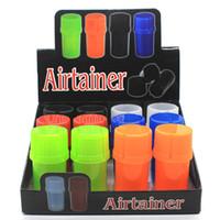 Gorąca sprzedaż w magazynie akrylowe styl butelki ze szlifierki ziołowej Airtainer zioła akcesoria 4 warstwowy szlifierka zioła 0266214