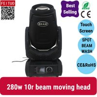 4 / lotto moving beam 10r 280w spot fascio 280 moving head light sharpy luce da discoteca 280w beam 10r