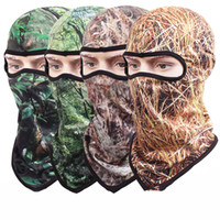 4 Styles Camouflage Full Mask CS Tactical Bike Bicycle Masks...