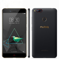 Original Nubia Z17 Mini 4G LTE Teléfono celular 6GB RAM 64GB ROM Snapdragon 653 Octa Core 5.2 pulgadas 16.0MP Identificación de huellas digitales NFC Teléfono móvil inteligente