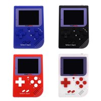 RS-6 Portátil Retro Mini consola portátil Game 8 bit Color LCD Game Player para FC Game con paquete comercial