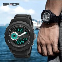 Sanda 2018 new watch men' s watch electronic watch fashi...