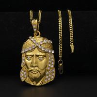 Moda hip hop colar jóias geladas para fora juses peça pingente colares 3mm * 24inch corrente cubana de ouro