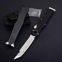 MT HALO VI 6 Tanto mango de aluminio auto Tactical satin Acción simple cuchillo llano Supervivencia acampar cuchillos de engranaje con kydex funda WL