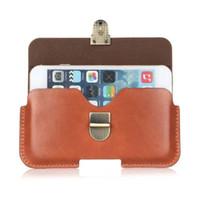 Универсальный PU кожаный ремень клип сумка чехол для Ergo A550 Maxx Dual Sim