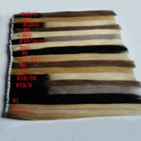 "Ombre Tape In Human Hair Extensions 100g 14"" 16"" 1..."