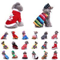 Cão de estimação Roupas Para Cães Pequenos Inverno Natal Roupas de Halloween Quente Casaco de Gato Casaco de Abóbora Assistente Transformar Traje Engraçado