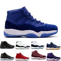 Scarpe New Basket 11 11s Breed Prom Night nero blu Rosso bianco Grigio  sneakers sportive High e5660df21f2